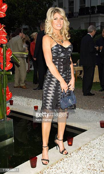 Hofit Golan during Le Tousseroc hosts Party at the Hempel in London June 12 2007 in London United Kingdom