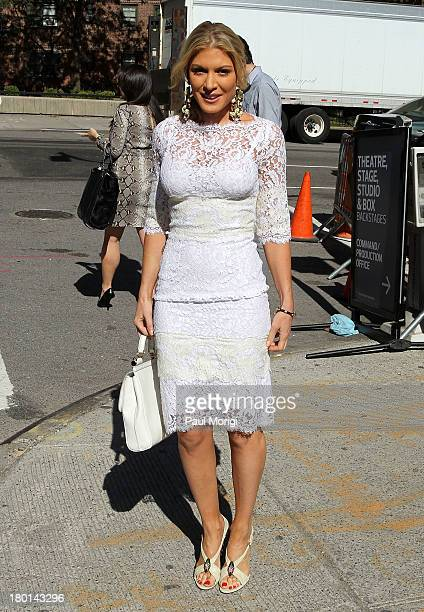 Hofit Golan is seen around Lincoln Center during Spring 2014 MercedesBenz Fashion Week on September 9 2013 in New York City