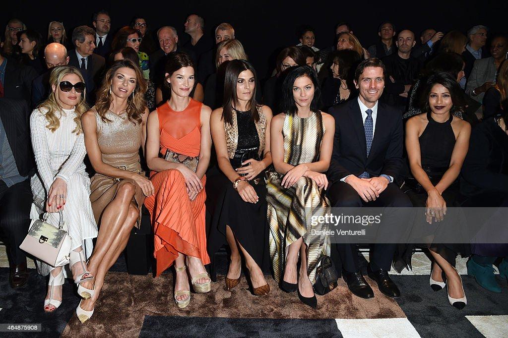 Salvatore Ferragamo - Front Row - MFW FW2015