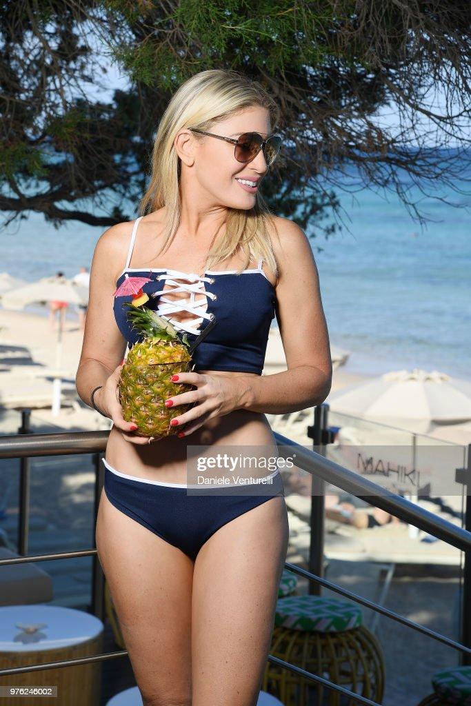 Hofit Golan poses for a portrait session during 'Filming Italy Sardegna Festival' at Forte Village Resort on June 16, 2018 in Santa Margherita di Pula, Cagliari, Italy.