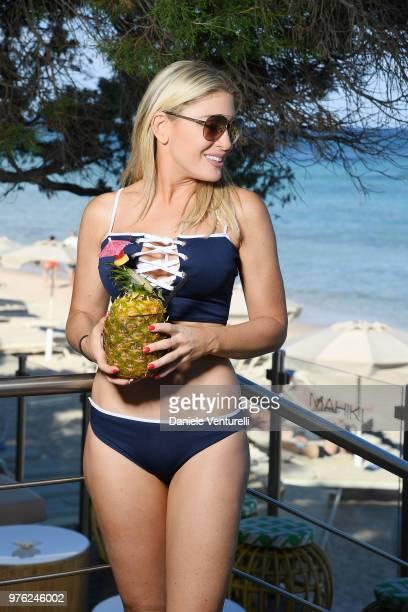 Hofit Golan poses for a portrait session during 'Filming Italy Sardegna Festival' at Forte Village Resort on June 16 2018 in Santa Margherita di Pula...