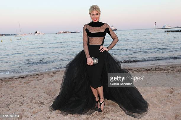 Hofit Golan poses for portraits during the 68th annual Cannes Film Festival on May 17 2015 in Cannes France