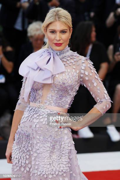 Hofit Golan walks the red carpet ahead of the 'At Eternity's Gate' screening during the 75th Venice Film Festival at Sala Grande on September 3 2018...
