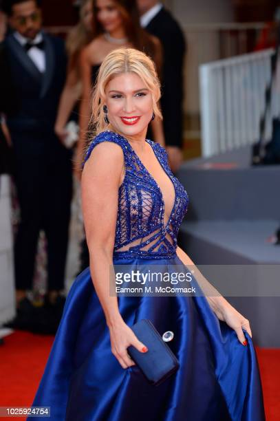 Hofit Golan walks the red carpet ahead of the 'Suspiria' screening during the 75th Venice Film Festival at Sala Grande on September 1 2018 in Venice...