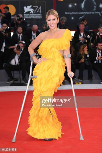 Hofit Golan walks the red carpet ahead of the 'The Leisure Seeker ' screening during the 74th Venice Film Festival at Sala Grande on September 3 2017...