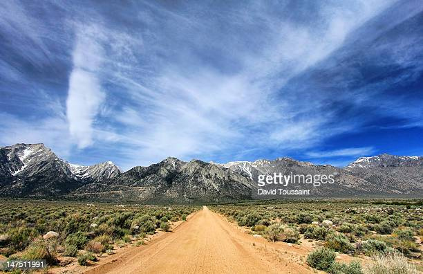hogback creek road - lone pine california stock pictures, royalty-free photos & images