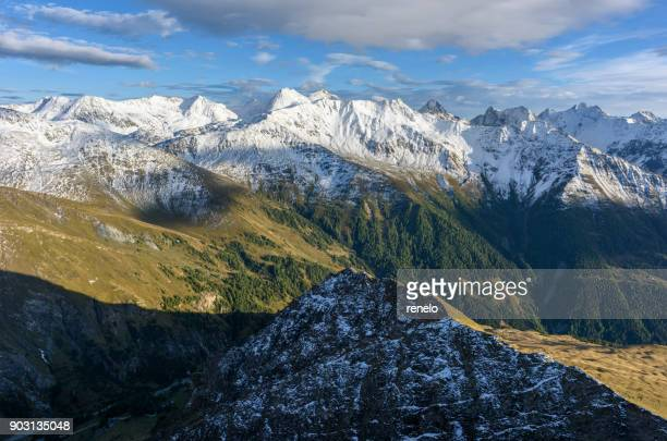 hohe tauern, schobergruppe - carinthia stock pictures, royalty-free photos & images