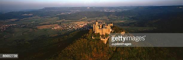 Hohenzollern Castle , Bisingen , Baden-Wuerttemberg , Germany