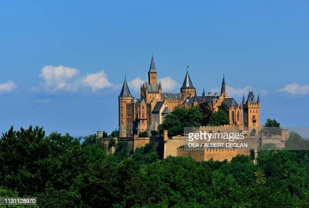Hohenzollern Castle Bisingen BadenWurttemberg Germany 15th19th century