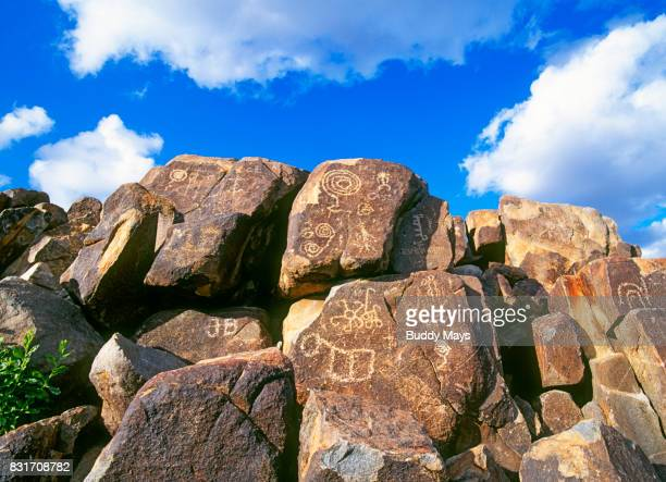 hohokam petroglyphs - antiquities stock pictures, royalty-free photos & images