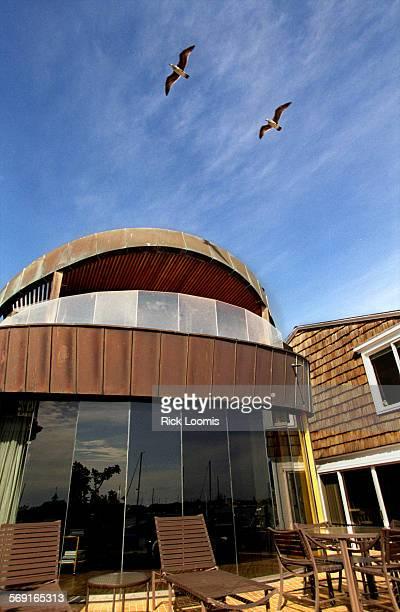HOhomebalboa0225RL––The home at 804 S Bayfront on Balboa Island was designed by John Lautner a student and lifelong friend of Frank Lloyd Wright