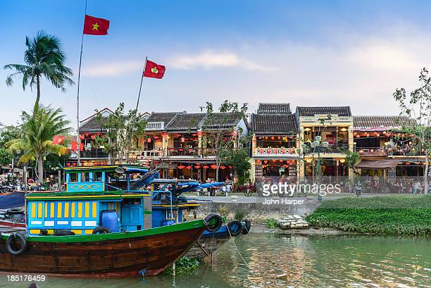 Hoi An at sunset, Vietnam