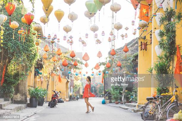 hoi an by day - vietnam stock pictures, royalty-free photos & images