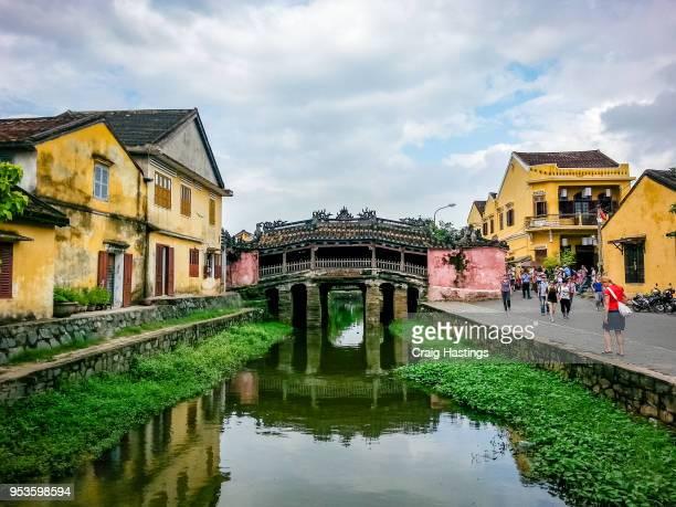 Hoi An City River Scene Vietnam