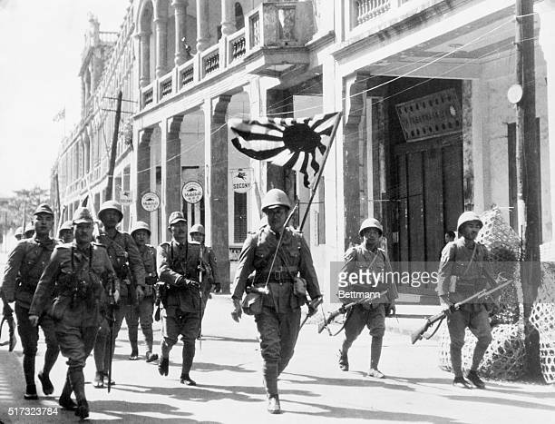 3/6/1939 Hoihow Hainan Island When the Japanese grabbed a French island With the flag of the Rising Sun at their head a detachment of Japanese troops...