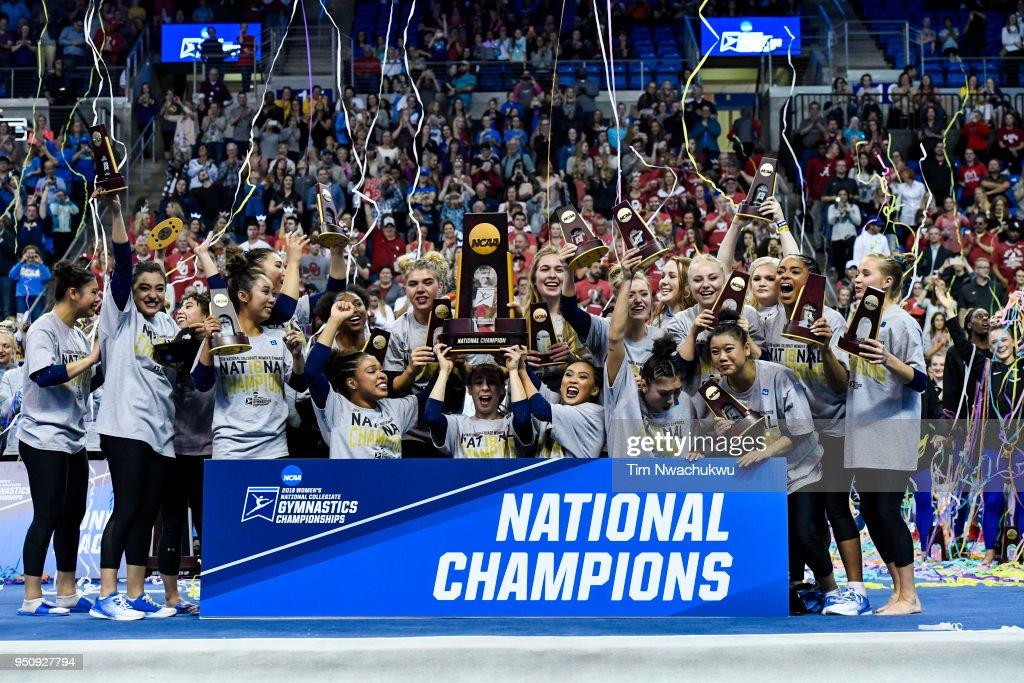 NCAA Division I Women's Gymnastics Championship : Fotografía de noticias