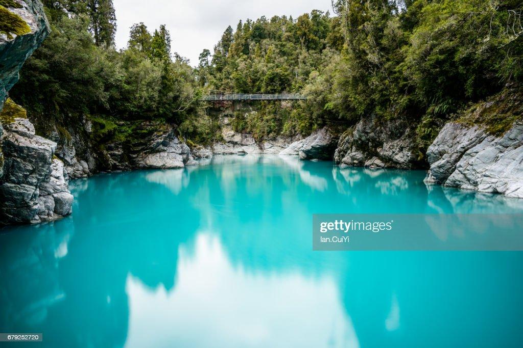 Hokitika Gorge, New Zealand : Stock-Foto