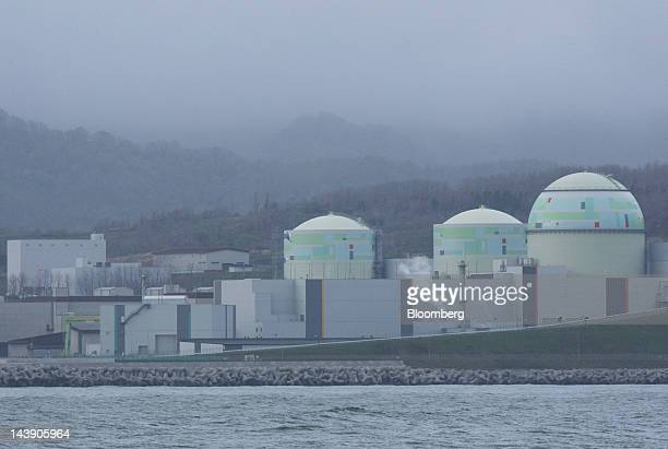 Hokkaido Electric Power Co's Tomari nuclear power plant stands in Tomari Village Hokkaido Japan on Saturday May 5 2012 Japan will have no...