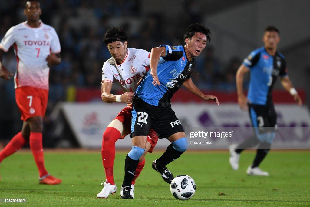 Kawasaki Frontale v Nagoya Grampus - J.League J1 : ニュース写真