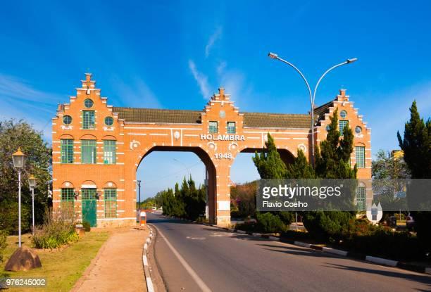 Holambra city entrance