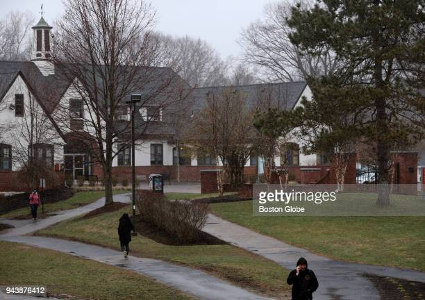 Holbrook Hall at Mount Ida College in Newton MA is pictured on April 6 2018 Struggling Mount Ida College and the University of Massachusetts have...