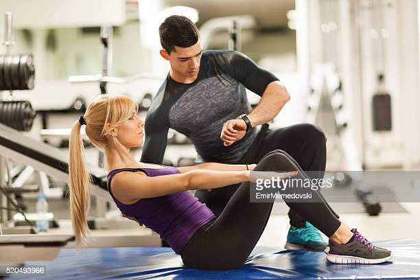 3c0a76436a4 Fitness Instructor Stock Photos and Pictures