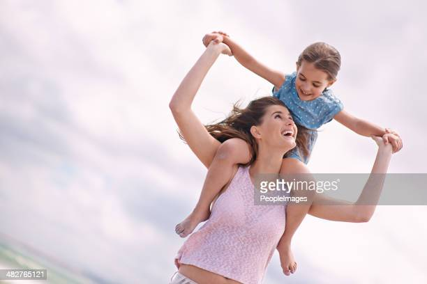 hold on tight! - peopleimages stock pictures, royalty-free photos & images