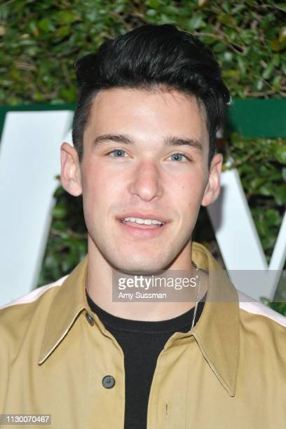Holden Glazer attends Teen Vogue's 2019 Young Hollywood Party Presented By Snap at Los Angeles Theatre on February 15 2019 in Los Angeles California
