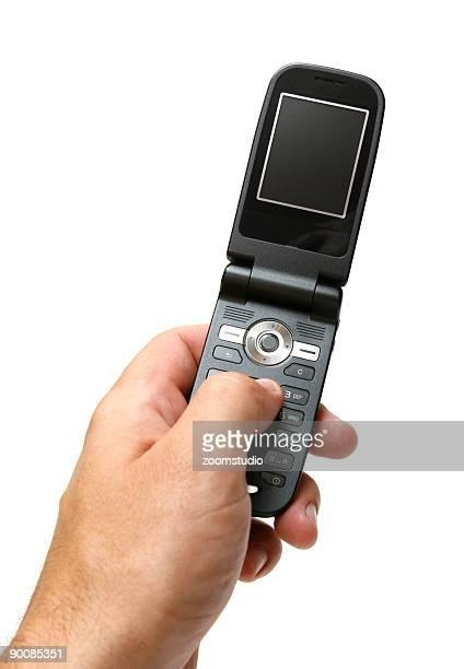 Hält ein GSM-Mobiltelefon