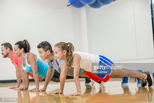 Holding a Plank Pose