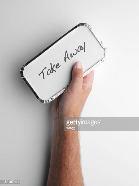 Holding a Take Away