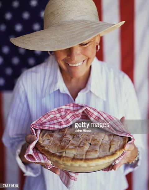 Holding Apple Pie