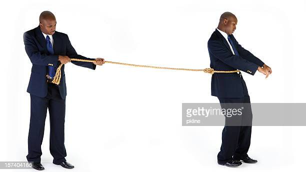 holding back - restraining stock photos and pictures