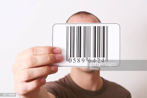 Holding barcode