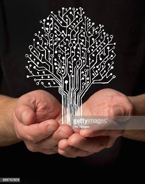 Holding digital tree