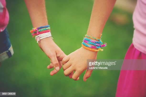 Holding Hands - Friendship Bracelets