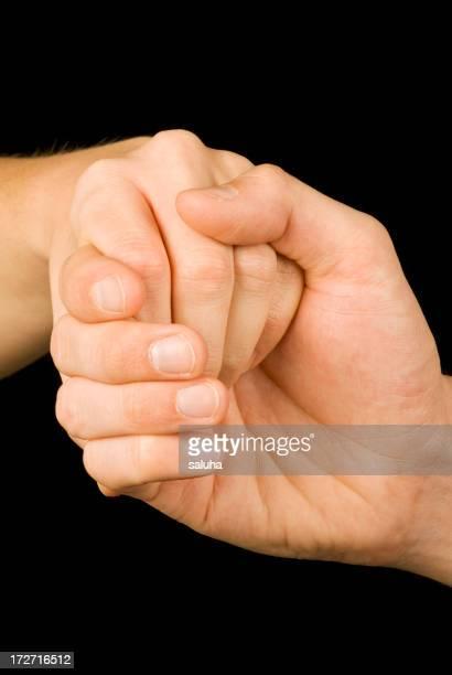 Agarrar de la mano