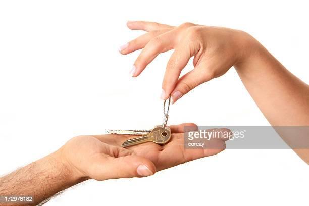holding house key series