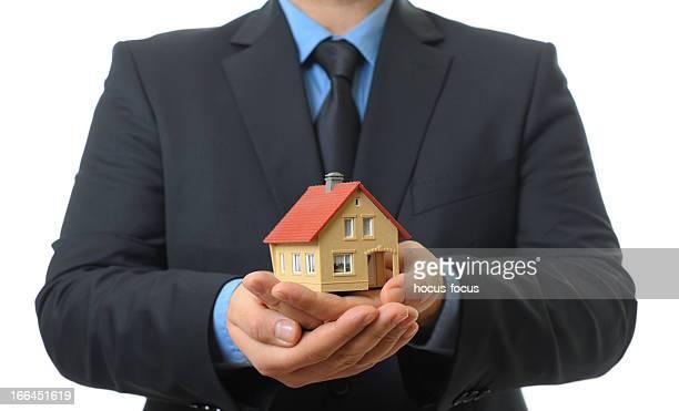 Holding model house