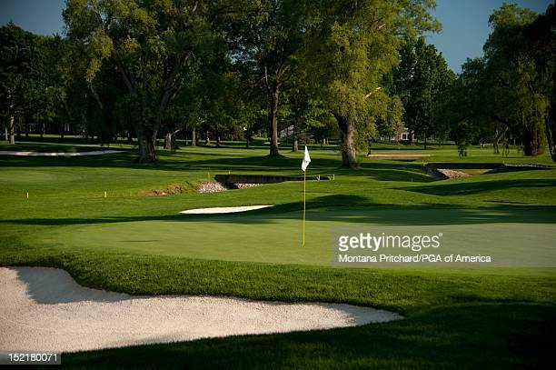 hole 11 scenic Oak Hill Country Club in Rochester New York USA the future site of the 95th PGA Championship on June 11 2012