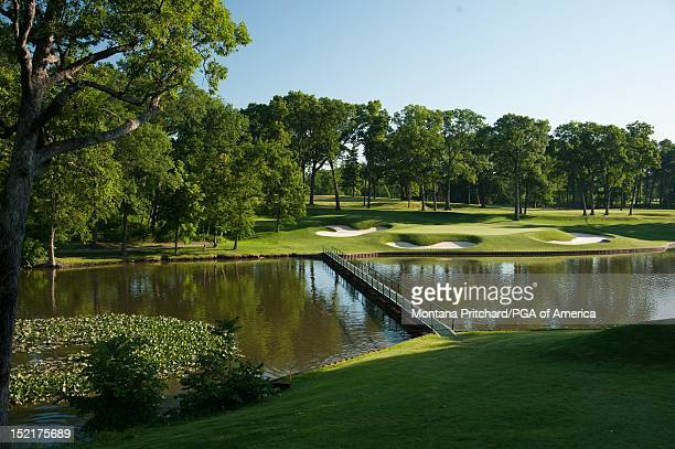 Hole 13 at Medinah Country Club in Medinah IL USA the future site of the 2012 Ryder Cup on June 06 2012