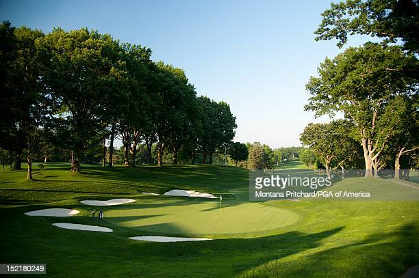 hole 13 at Oak Hill Country Club in Rochester New York USA the future site of the 95th PGA Championship on June 11 2012