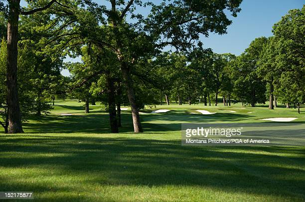 Hole 14 at Medinah Country Club in Medinah IL USA the future site of the 2012 Ryder Cup on June 06 2012