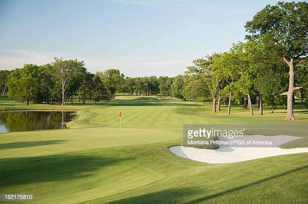 Hole 15 at Medinah Country Club in Medinah IL USA the future site of the 2012 Ryder Cup on June 06 2012