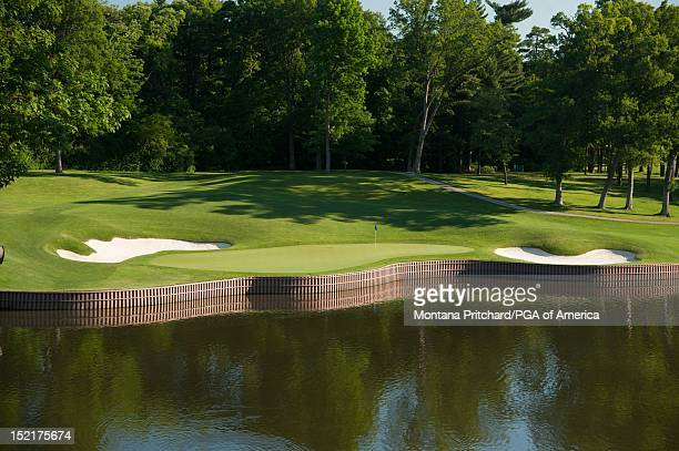 Hole 17 at Medinah Country Club in Medinah IL USA the future site of the 2012 Ryder Cup on June 06 2012