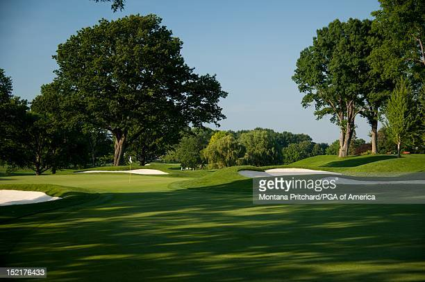 hole 17 at Oak Hill Country Club in Rochester New York USA the future site of the 95th PGA Championship on June 11 2012