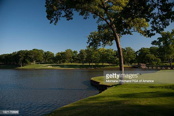 Hole 2 at Medinah Country Club in Medinah IL USA the future site of the 2012 Ryder Cup on June 06 2012