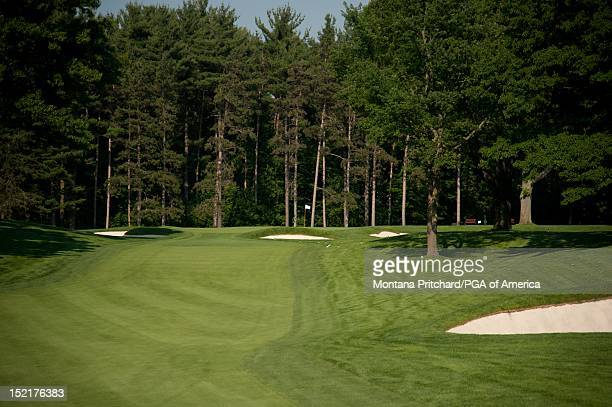 hole 2 at Oak Hill Country Club in Rochester New York USA the future site of the 95th PGA Championship on June 11 2012