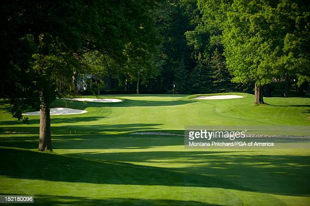 hole 7 at Oak Hill Country Club in Rochester New York USA the future site of the 95th PGA Championship on June 11 2012