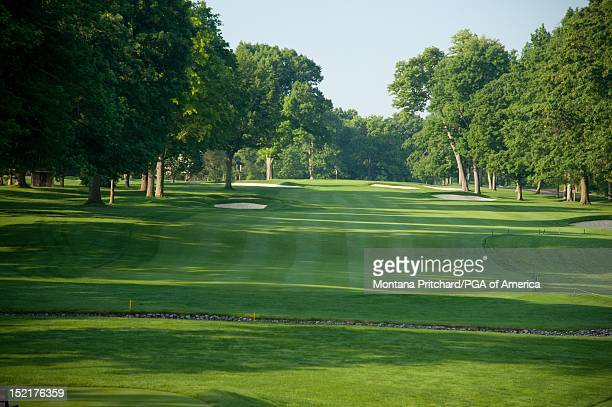 Hole 8 at Oak Hill Country Club in Rochester New York USA the future site of the 95th PGA Championship on June 11 2012